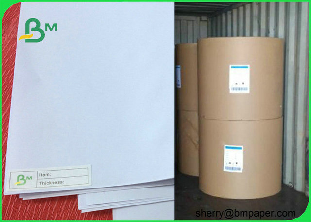 High Quality Grade AA 80gsm white copy paper jumbo roll for Printing