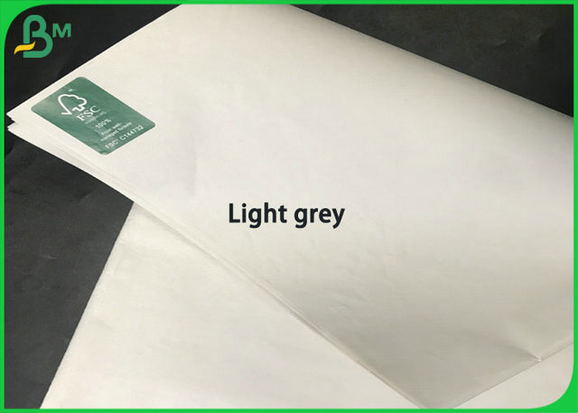 45gsm 46gsm 48.8 Gsm FSC Newsprint Paper Sheets Light Grey Custom Size