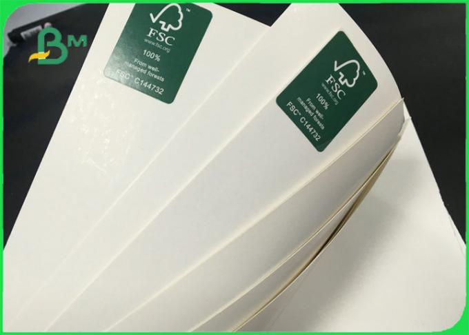 High Bulk Ecofriendly GC1 FBB Ivory Board Paper For Box Packing 250gsm - 300gsm