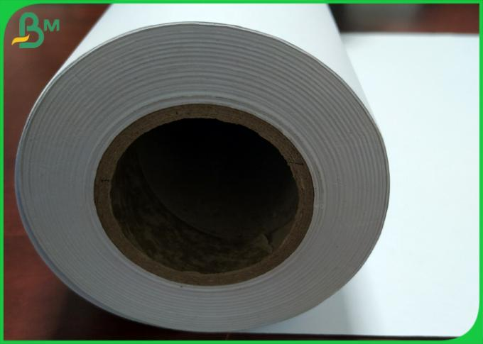 Eco-Friendly 50m 100m 150m High whiteness CAD Plotter Paper for Inkjet Printing